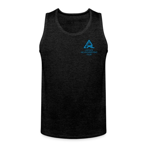 Premium Tank Top w' Light Blue LMC Logo - Men's Premium Tank Top