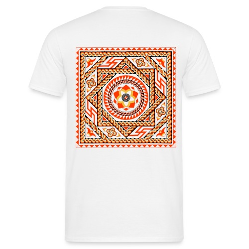 Basildon Roman Mosaic (Back) - Men's T-Shirt