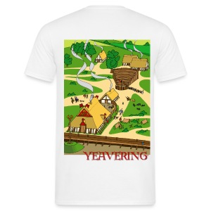 Yeavering Palace (Back) - Men's T-Shirt