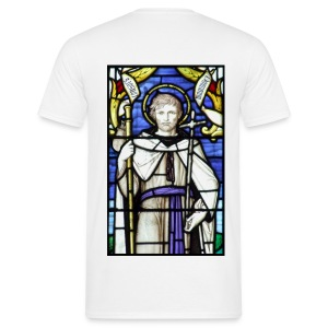 St. Nectan (Back) - Men's T-Shirt