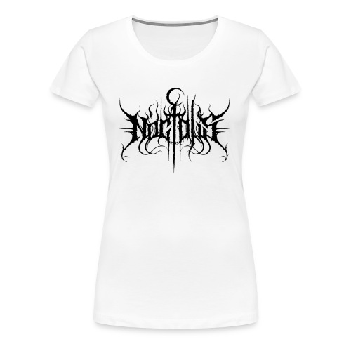 Noctalis Logo Black Girly - Frauen Premium T-Shirt