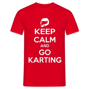 Keep Calm and Go Karting - Men's T-Shirt
