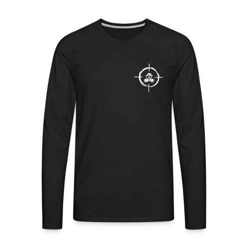 Marxman Mens Longsleeve - Mannen Premium shirt met lange mouwen