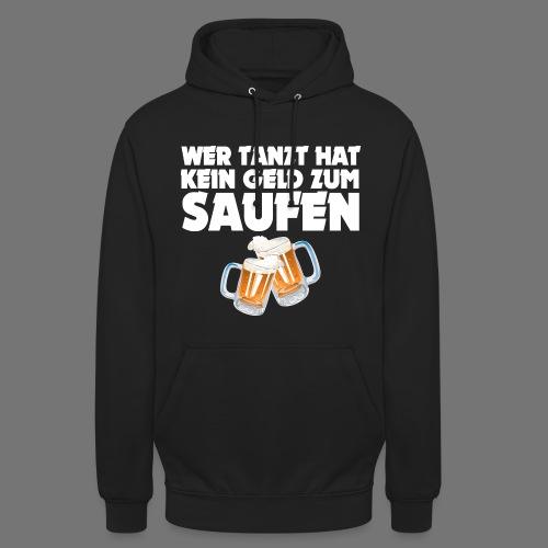Saufen Hoodie Schwarz - Unisex Hoodie