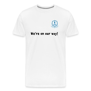 We're on our way! - Men's Premium T-Shirt