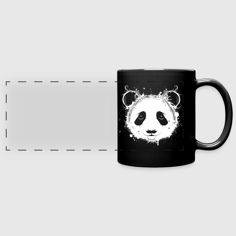 tasse t te de panda g ant spreadshirt. Black Bedroom Furniture Sets. Home Design Ideas