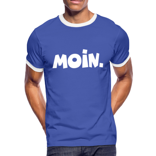Moin. Kontrast T-Shirt - Männer Kontrast-T-Shirt