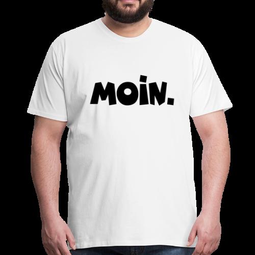 Moin. S-5XL T-Shirt - Männer Premium T-Shirt