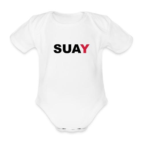 SUAY - Baby Bio-Kurzarm-Body