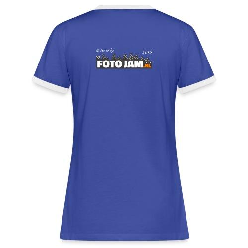 Fotojam - Vrouwen contrastshirt