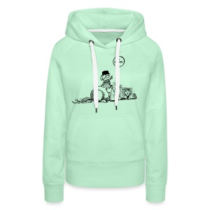 Thelwell Pony 'No waiting' - Women's Premium Hoodie