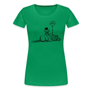 Thelwell Pony 'No waiting' - Women's Premium T-Shirt