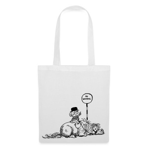 Thelwell Pony 'No waiting' - Tote Bag