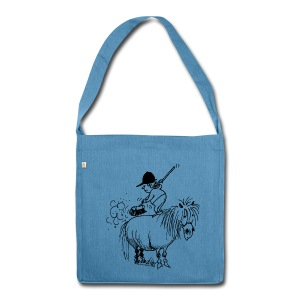 Thelwell Pony 'Spring leaning' - Shoulder Bag made from recycled material