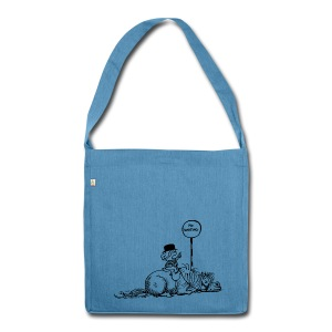 Thelwell Pony 'No waiting' - Shoulder Bag made from recycled material