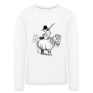Thelwell Pony 'Spring leaning' - Kids' Premium Longsleeve Shirt