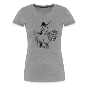 Thelwell Pony 'Spring leaning' - Women's Premium T-Shirt
