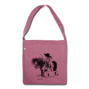 Thelwell Pony 'Winner's Rosttrum' - Shoulder Bag made from recycled material