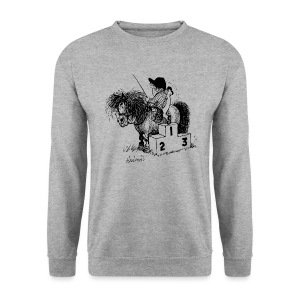 Thelwell Pony 'Winner's Rosttrum' - Men's Sweatshirt