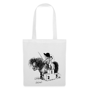 Thelwell Pony 'Winner's Rosttrum' - Tote Bag