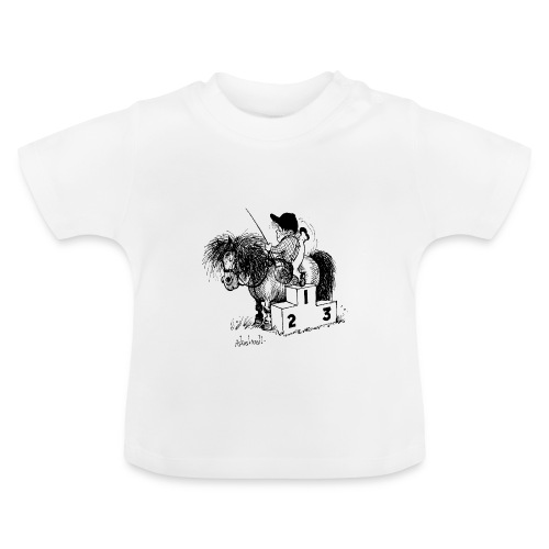 Thelwell Pony 'Winner's Rosttrum' - Baby T-Shirt