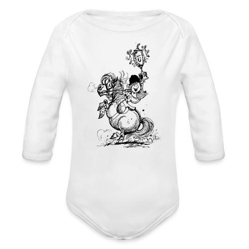 Thelwell Pony Champions - Organic Longsleeve Baby Bodysuit