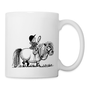 Thelwell Pony 'Penelope with mirror' - Mug