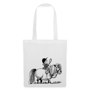 Thelwell Pony 'Penelope with mirror' - Tote Bag