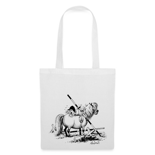 Thelwell A hard-bitten Pony  - Tote Bag