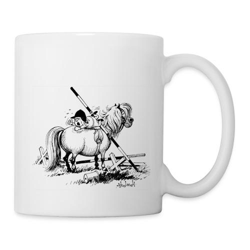 Thelwell A hard-bitten Pony  - Mug