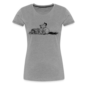 Thelwell Pony is sleeping - Women's Premium T-Shirt