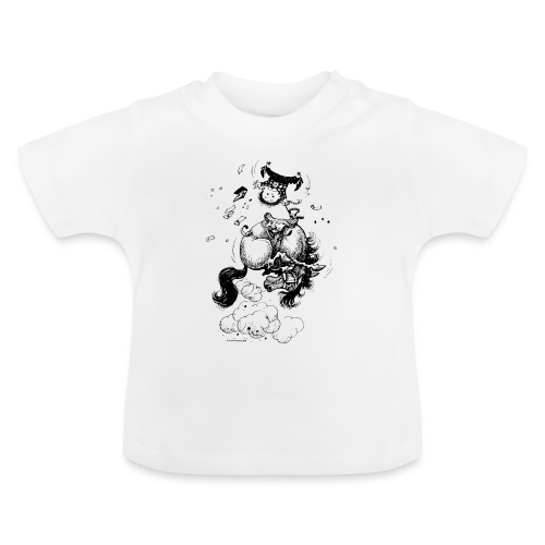Thelwell Pony Western Rodeo - Baby T-Shirt