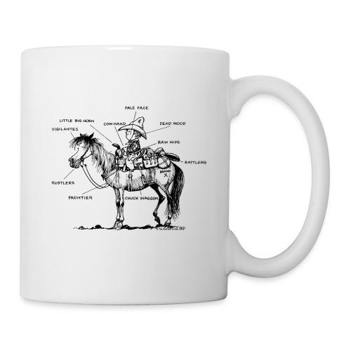 Thelwell Pony 'Western Riding school' - Mug