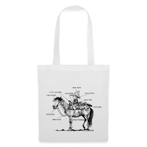 Thelwell Pony 'Western Riding school' - Tote Bag