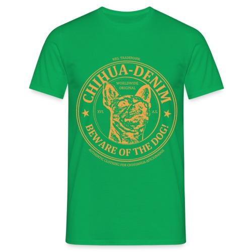 CHIHUA-DENIM Logo Shirt - Männer T-Shirt