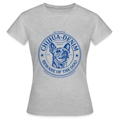 CHIHUA-DENIM Logo Shirt - Frauen T-Shirt