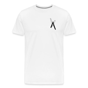 Vice Versa T-Shirt (White) - Men's Premium T-Shirt