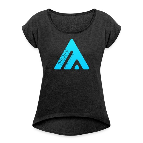 MOIN Woman T-shirt - Women's T-shirt with rolled up sleeves