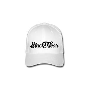 SLACKWEAR Cap Black Logo - Flexfit Baseballkappe