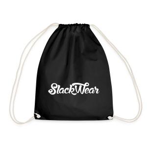 SLACKWEAR Bag White Logo - Turnbeutel