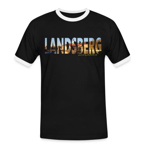 LL Love - Männer Kontrast-T-Shirt