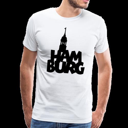 Hamburg Michel S-5XL T-Shirt - Männer Premium T-Shirt