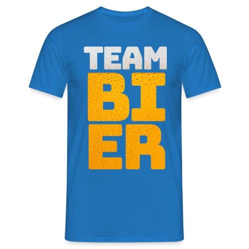 Team bier mannen t-shirt - Mannen T-shirt