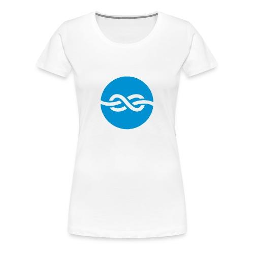 Shirt Knoten Frauen - Frauen Premium T-Shirt