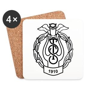 TSS ølbrikker - Brikker (sett med 4)