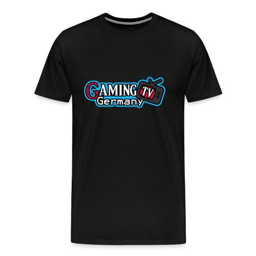 GamingTV Shirt (Schwarz) Male - Männer Premium T-Shirt