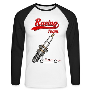 Racing Team - Men's Long Sleeve Baseball T-Shirt