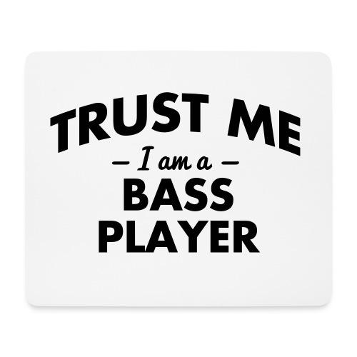 bass player mouse mat - Mouse Pad (horizontal)