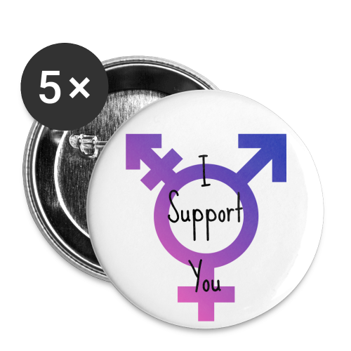 Trans* Support Pin - Buttons small 25 mm