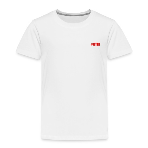 logo white teen - Kids' Premium T-Shirt